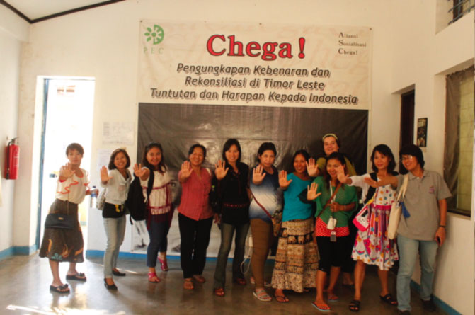Burmese women activists exchange visit to Timor-Leste