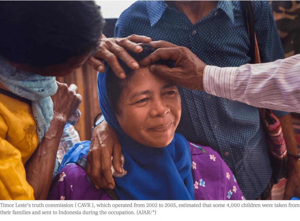 Reuniting Timor Leste Children Stolen by Indonesia