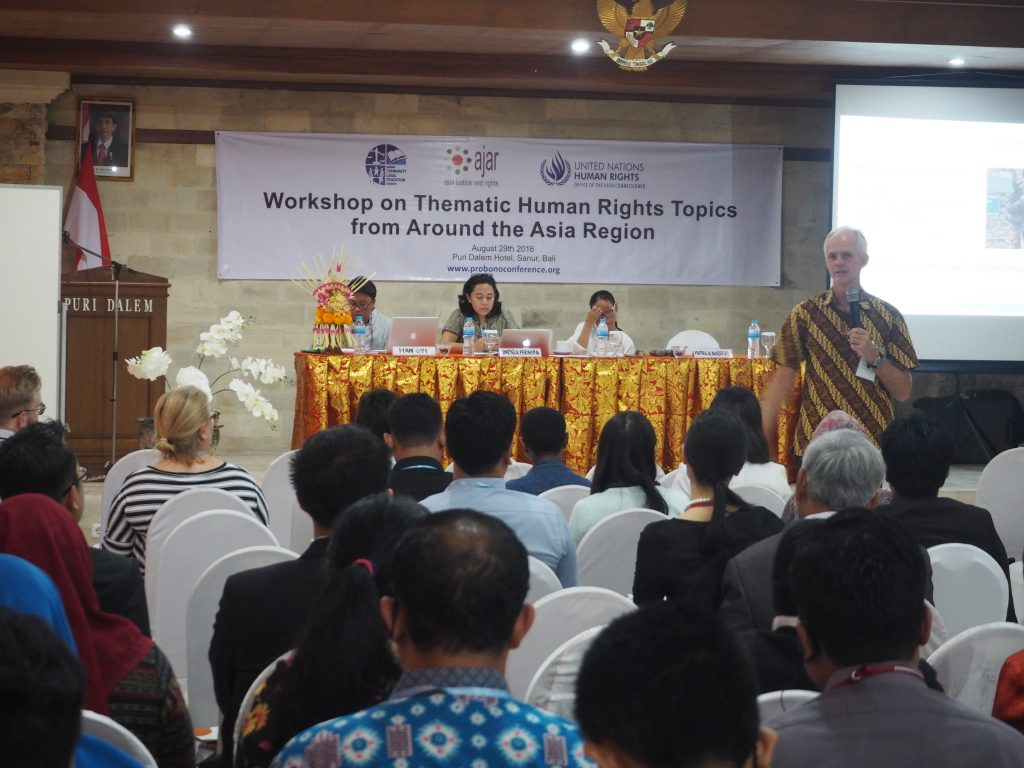 Workshop on Thematic Human Rights Topic Arround the Asia Region