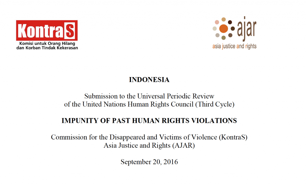 Submission to the Universal Periodic Review of the UN Human Rights Council (Third Cycle), 2017