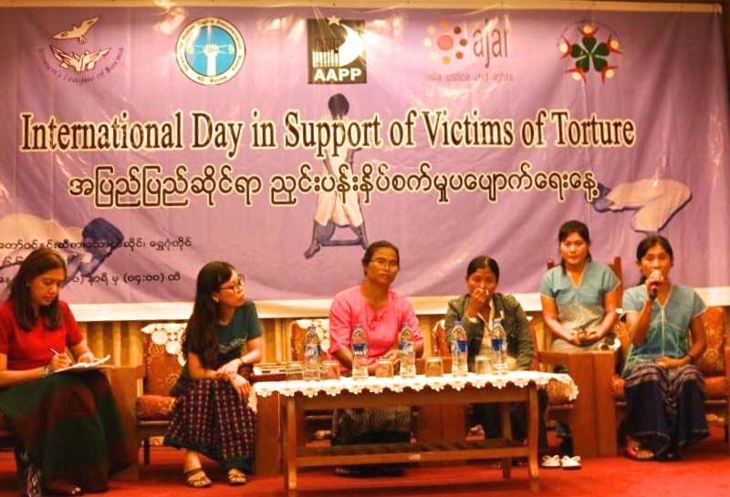 Truth-Telling and a Joint Call to Action: AJAR Myanmar and Partners' Commemoration of the International Day in Support of Torture Survivors