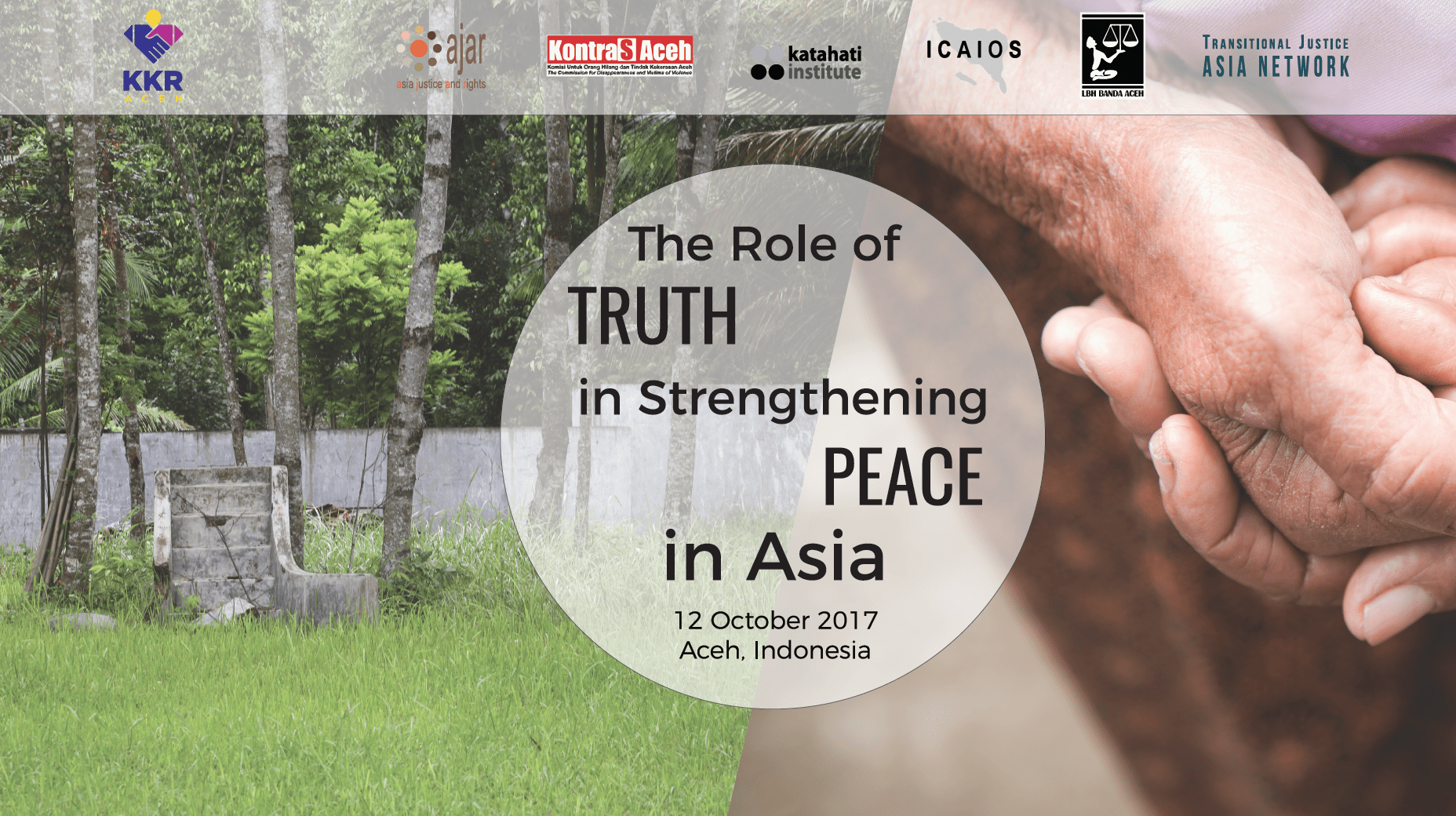 """Press Release: Regional Asia Seminar on the """"Role of Truth in Strengthening Peace in Asia"""""""