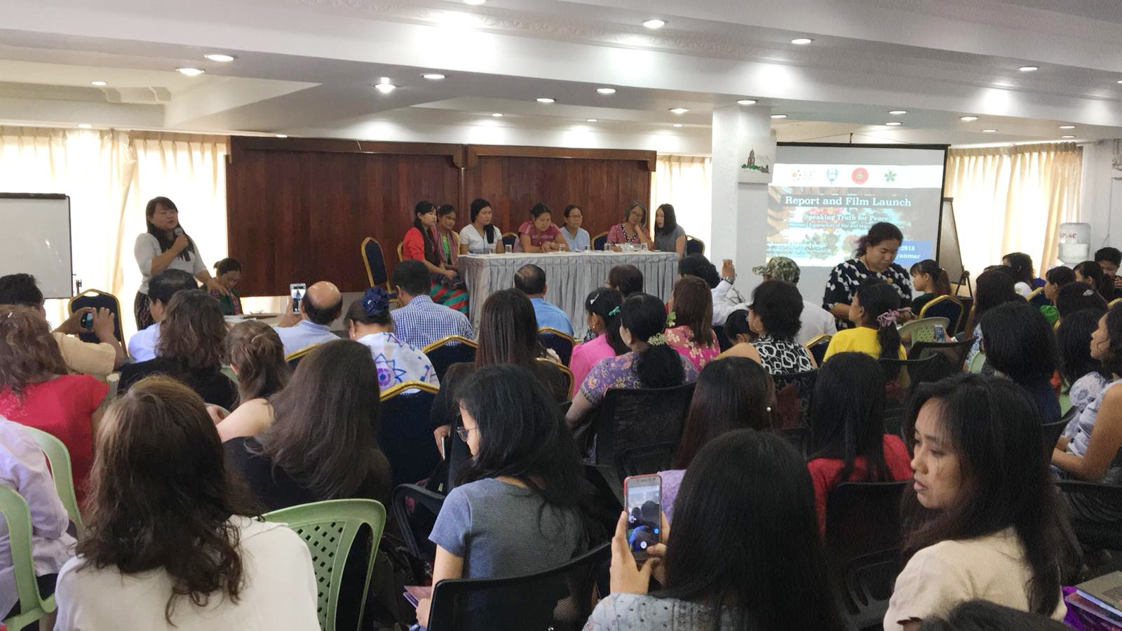 Press Release - Speaking Truth for Peace: Women's Experiences of War and Impunity in Myanmar