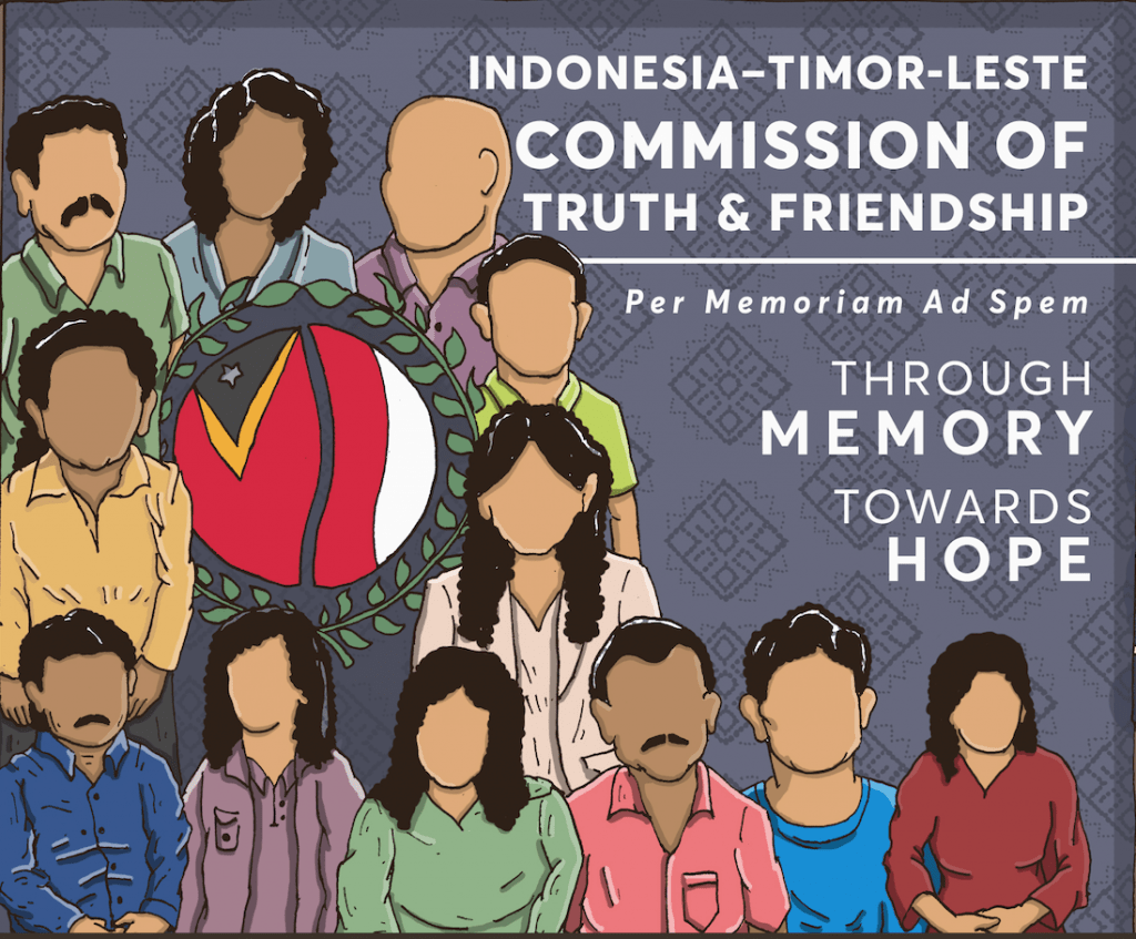 10 Years of Commission of Truth and Friendship of Indonesia and Timor-Leste (Infographic)
