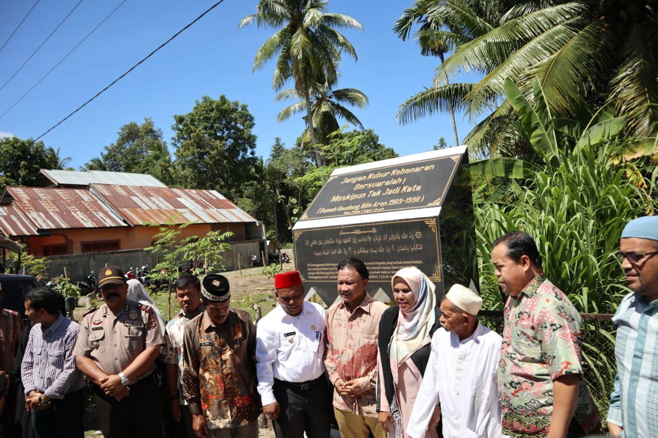 Nurturing Memory through the RumohGeudong Monument in Aceh, Indonesia