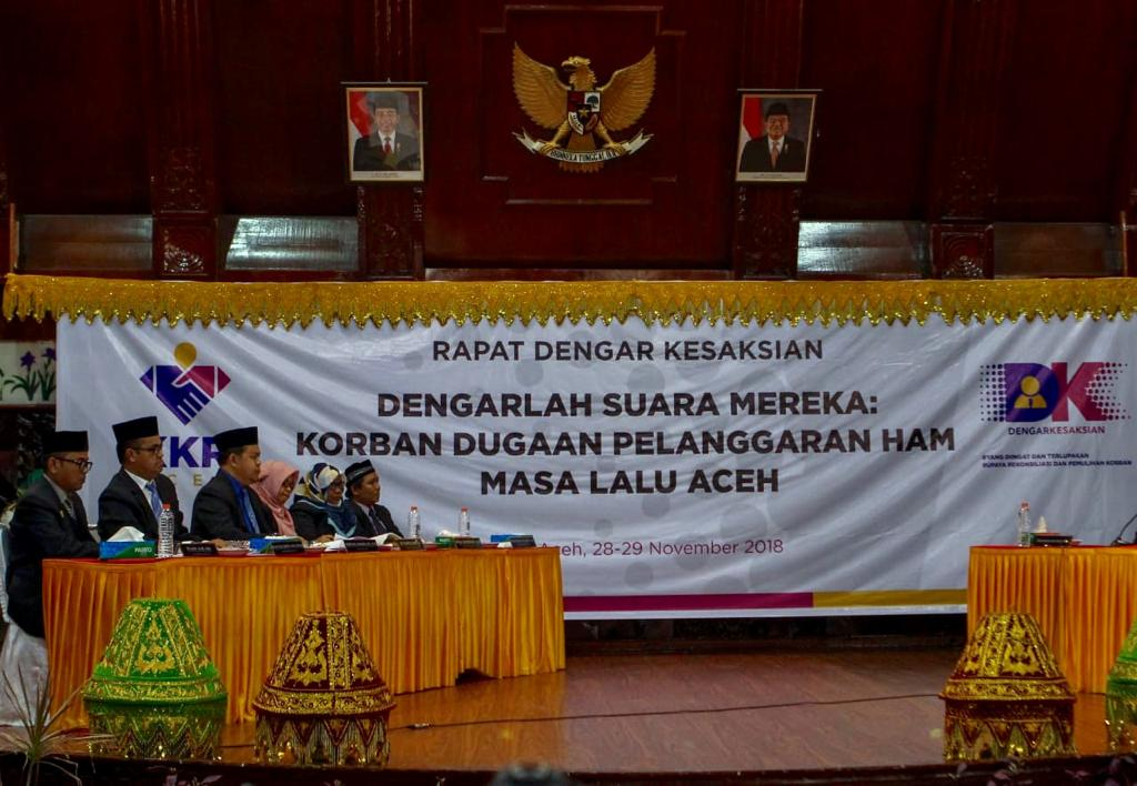 The Aceh Truth and Reconciliation Commission Public Hearing: Providing Space for Victims of Torture to Voice Their Truth and Hope