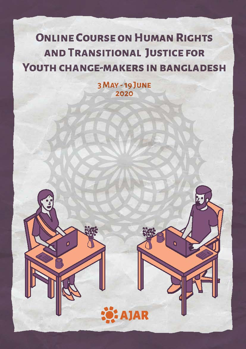 Online Course on Human Rights and Transitional Justice for Youth change-makers in Bangladesh